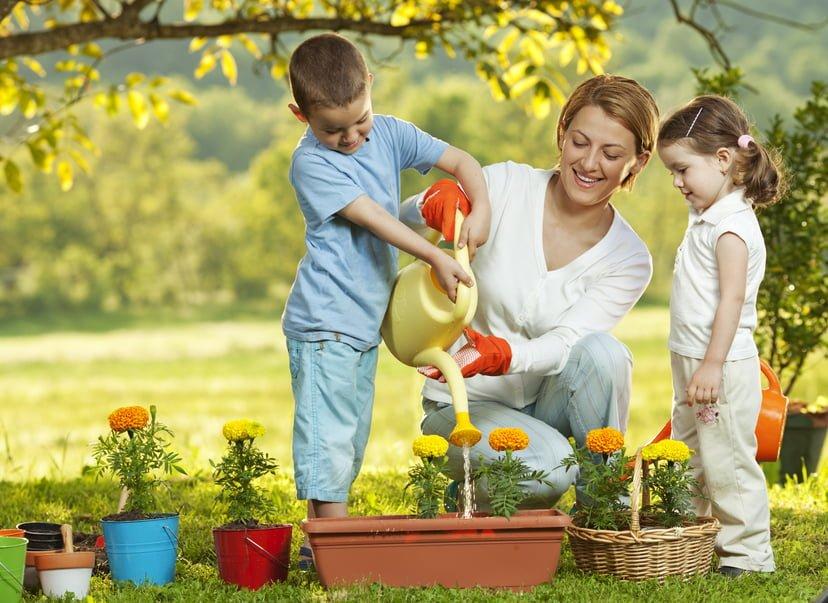 Introducing kids to gardening utah