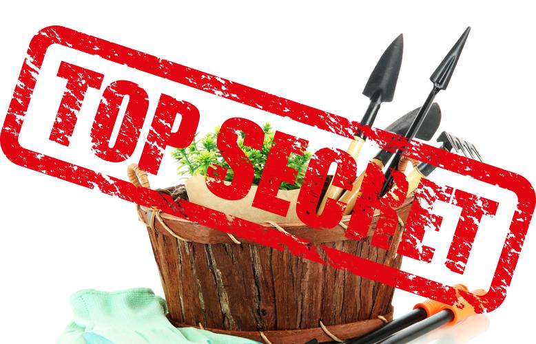 Top Secret Gardening Hacks