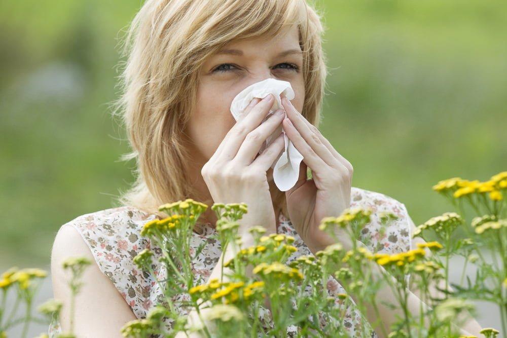 gardening allergies
