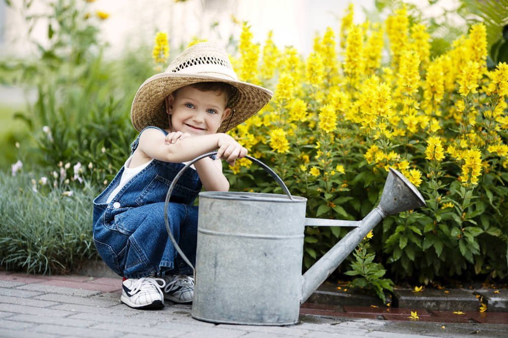 Kids Develop a Love of Gardening