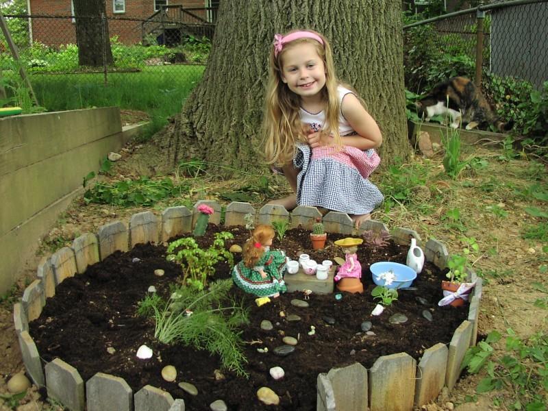 dolls' garden
